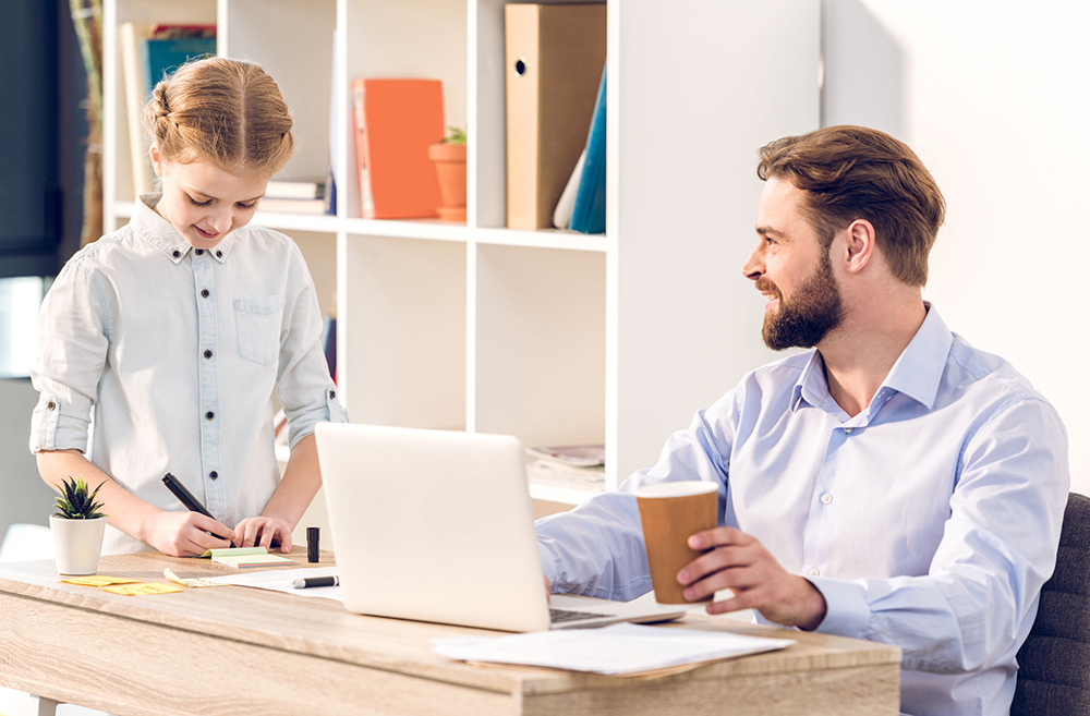 Dads in Business: How Small Business Benefits Busy Fathers